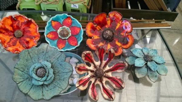 ceramiczne ozdoby ogrodowe
