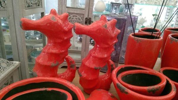koniki morskie ceramiczne