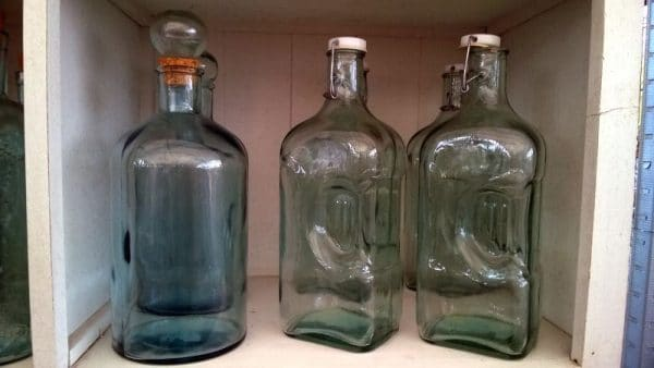 ozdobne butelki do nalewek